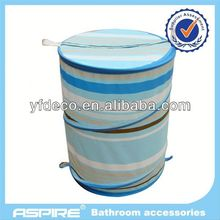 Bath collapsible laundry basket