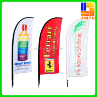 Custom flag woven flag fabric flexible flag pole