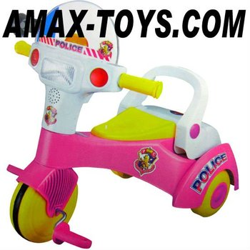 bt-2470801 baby walker tricycle, kids police bicycle