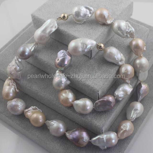 wholesale baroque original pearl sets, custom design available