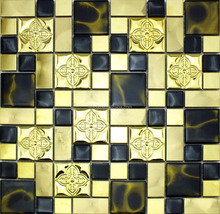 Glass Mosiac Tile Crystal Mosiac Tiles Bathroom Floor Tiles