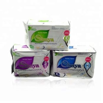 3 Set ShuYa Anion Sanitary Napkins Panty Liners-Daily Use Night Use