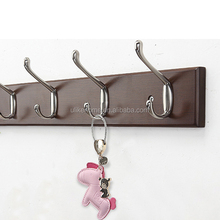 Metal Wall Mount <strong>Hook</strong> Double Coat <strong>Hook</strong> Bedroom <strong>Hooks</strong>