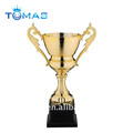 metal bowl trophy figurine