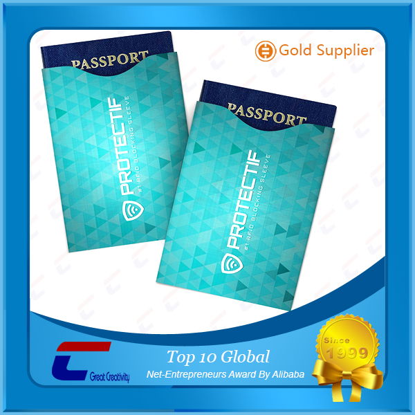 Plastic Card Protector Customized Blank Visa Credit Card Sleeves