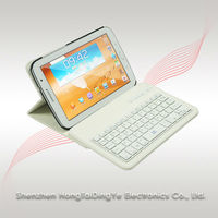 "360 Rotating Stand Leather Case Cover with Bluetooth Keyboard for Samsung Galaxy tablet 10.1"" N5100"