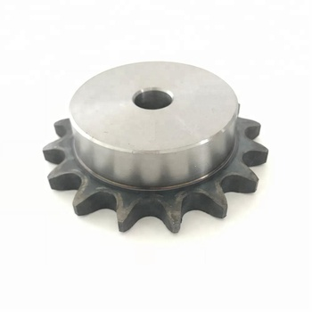 sprocket with surface treatments black oxide