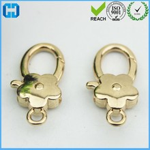 Fashion Heavy Duty Trigger Snap Hook Spring Gate Ring With Hook