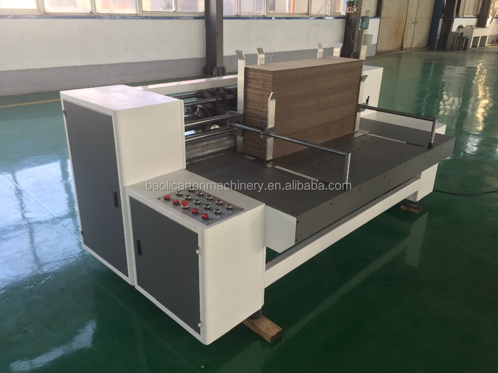 automatic rotary slotting machine for small slot boxes/package machinery