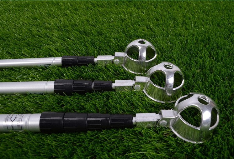 Telescopic Golf Ball picker Retriever, mini Aluminium alloy golf ball picker