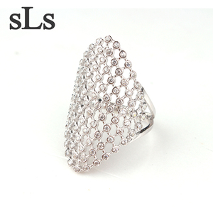 Fashionable Hot Sale 14K Sterling 925 Silver Ring Jewelry