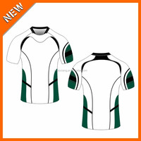 Ventilate good quality comfort heat transfer club rugby jersey