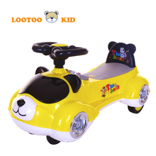 Alibaba trade assurance china factory cheap price indoor plastic toy car baby slides and swings