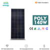 poly solar panel 140w solar panel system 10000w with best quality and low price