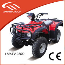 air cooled loncin atv 250cc quad bike atv with CE