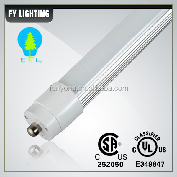 Factory price products 4ft 5ft 6ft 7ft 8ft 36W Single Pin T8 FA8 led tube light