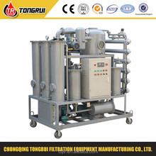 ZJA Double stage vacuum transformer oil cleaning machine
