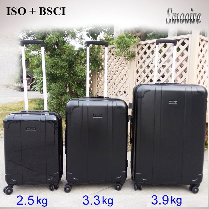 Weight 2.5 kg 3.3 kg 3.9 kg Polycarbonate PC ultra super light luggage