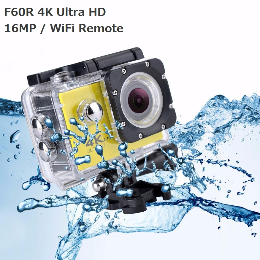F60 F60R Ultra HD 4k 30fps Bike Camera Outdoor Waterproof DV Cam mini Sports Helmet action camera