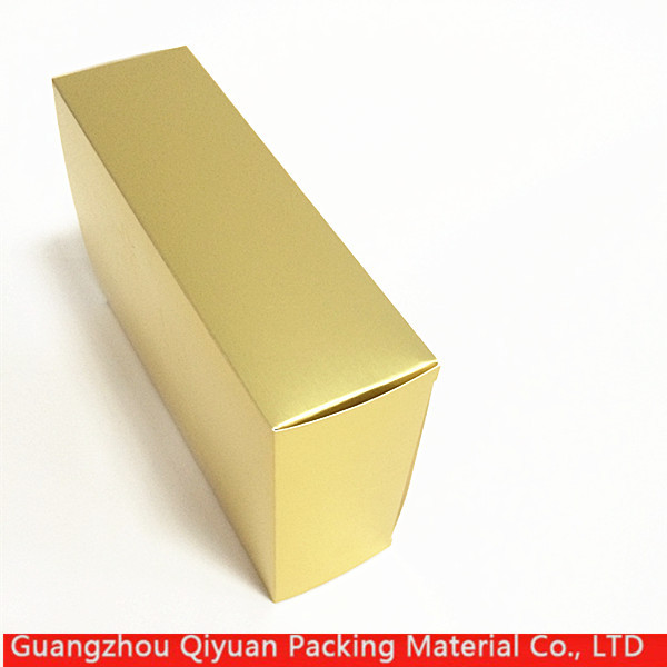 New products china luxury small flat folding cardboard paper gold gift box