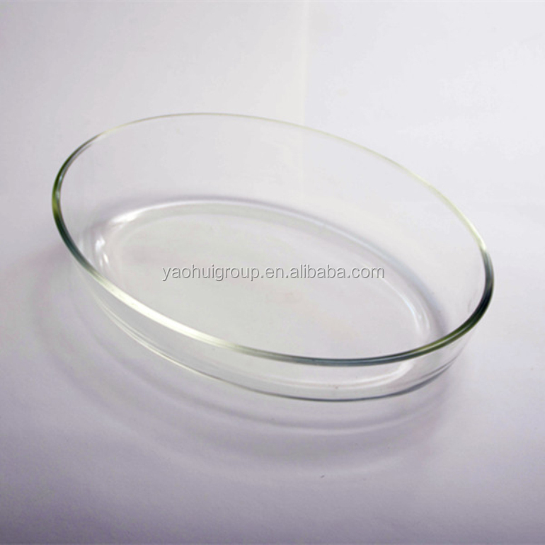 Rectangular Borosilicate Glassware Set