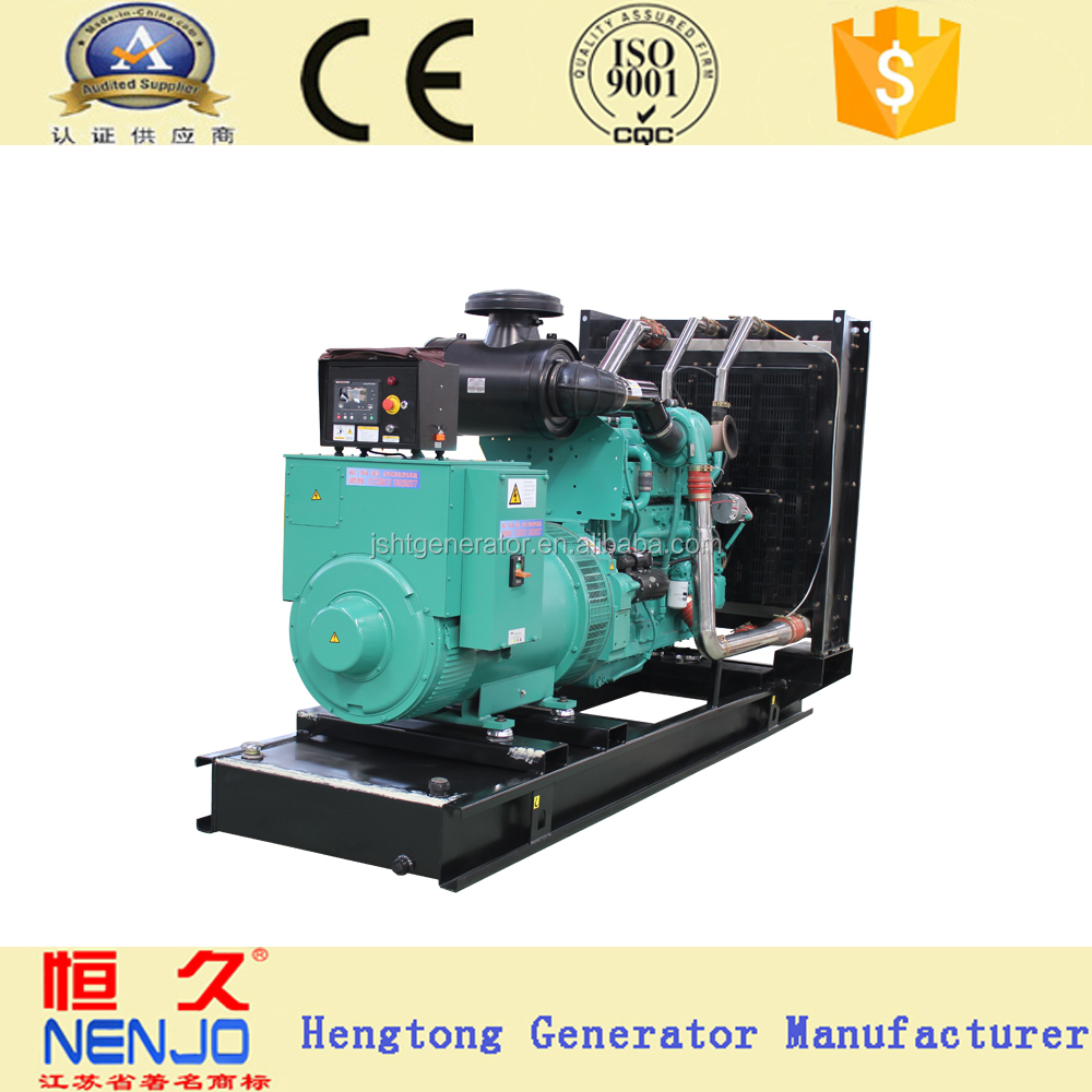 NT855-GA 250KVA/200KW without canopy genset electric power diesel generator manufacturer list (18KW~1500KW)