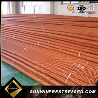 cold rolled steel material corrugated steel cable wire duct for building
