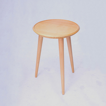 16 inch Round Beech Wood Coffee Table Leisure End Table
