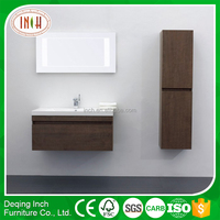 black bathroom furniture/bathroom cabinet with towel bar/custom bathroom cabinets online