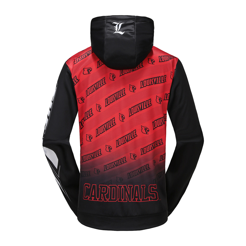 customize sublimation polyester pullover hoodie sweatshirt
