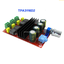 TDA3116D2 Tube Digital Audio amplifier Board Power Amp 2.0 Class D Stereo HIFI amplifier DC 12V 24V 2*100W XH-M190