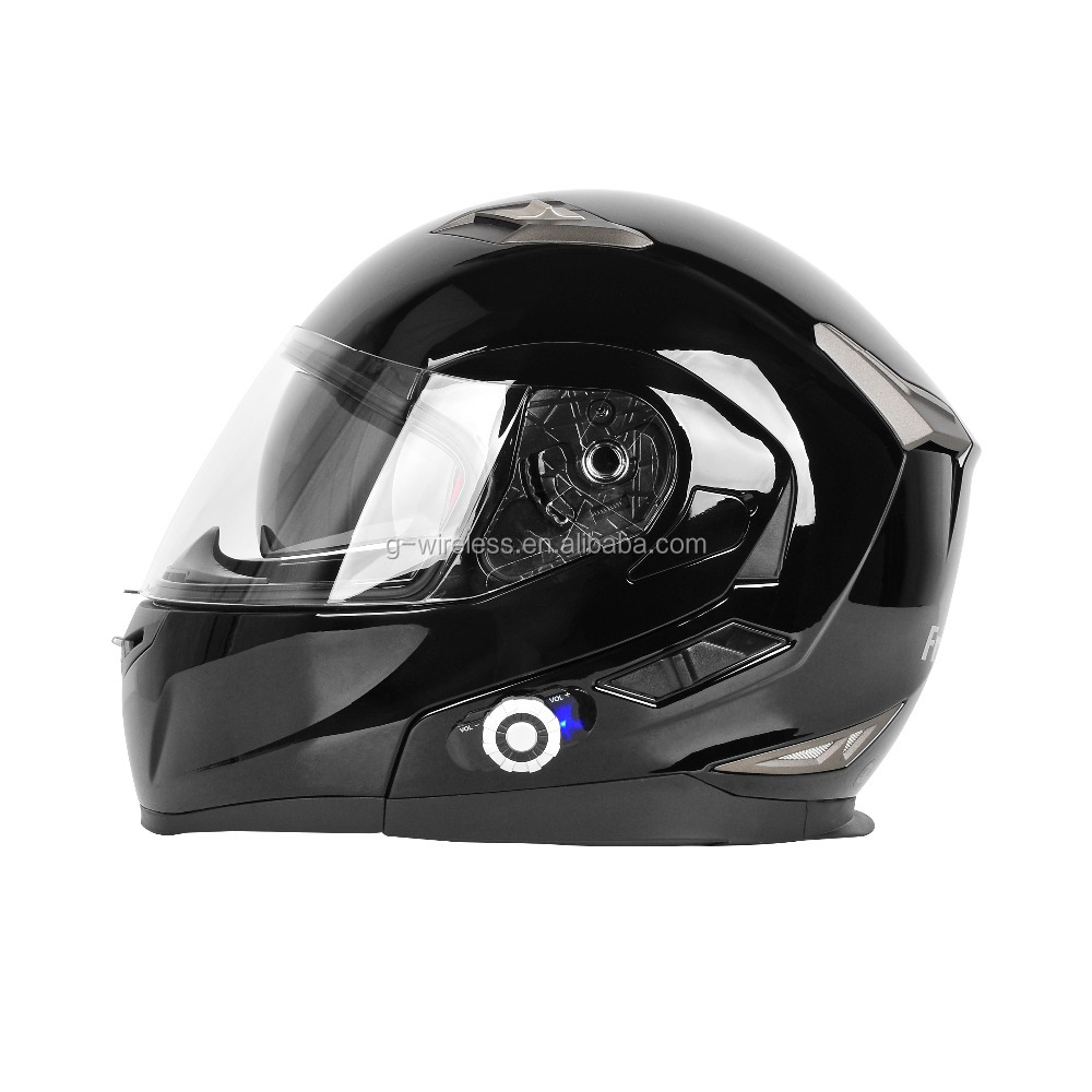 Black Color 955 Motorcycle Bluetooth Helmets Outdoor Sport Activities Built-in Intercom Headset Helmet