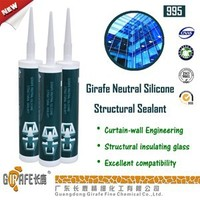 clear gule RTV UV Resistant structural silicone sealant