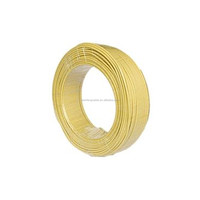 PVC Insulated Copper Conductor House Wire yellow 6 mm electric wire