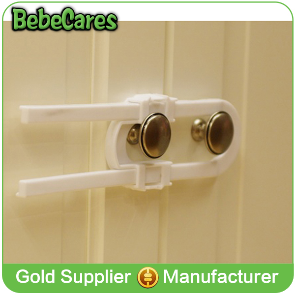 Amazon hot sale sliding wardrobe lock,baby cabinet lock for baby home safety