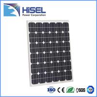 Solar panels with aluminium frame canada Hisel power