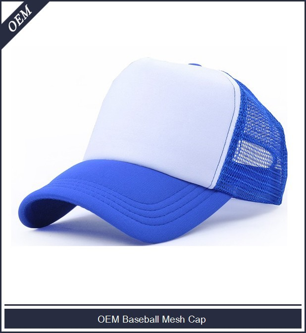 Custom promotional baseball cap mesh cap printing embroidery available