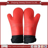 Seeway silicone wsterproof heat resistant oven gloves