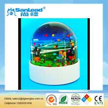 Acrylic Liquid Paper Weight,Acrylic Paperweight with Oil Drop Insert