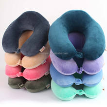 2017 New Design Non-toxic U shape Memory Foam Neck Roll Pillow For Traveling