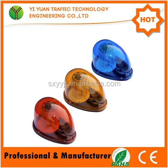 Yellow snail turns light vehicle absor light snails warning lights repair engineering led lightb dome