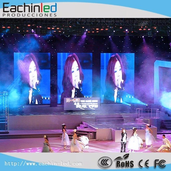 High Definition P3 Indoor Full Color Rental Led display Screen for advertising