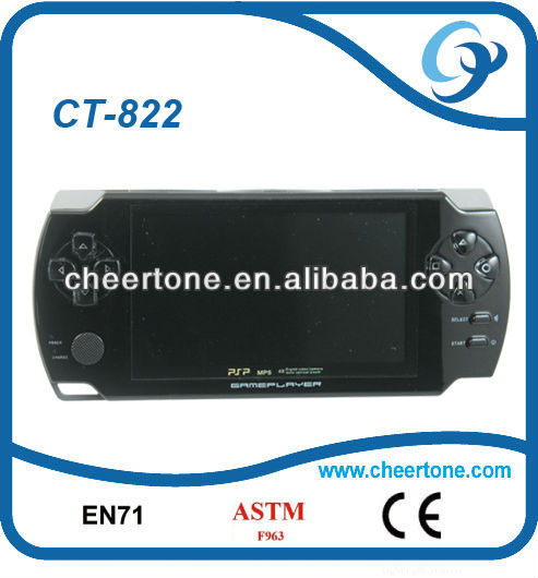 4.3 inch CPT screen nbs light game console, 32 bit video play game with camera ultra-slim body, only 10mm