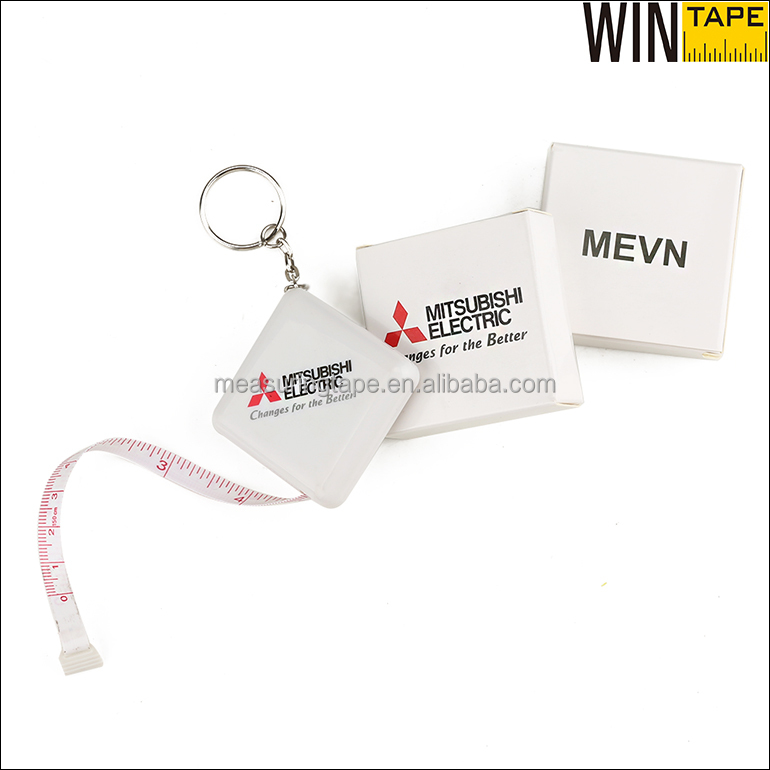 Box Packaging Cheap Custom Fashion Keychain with Your Logo