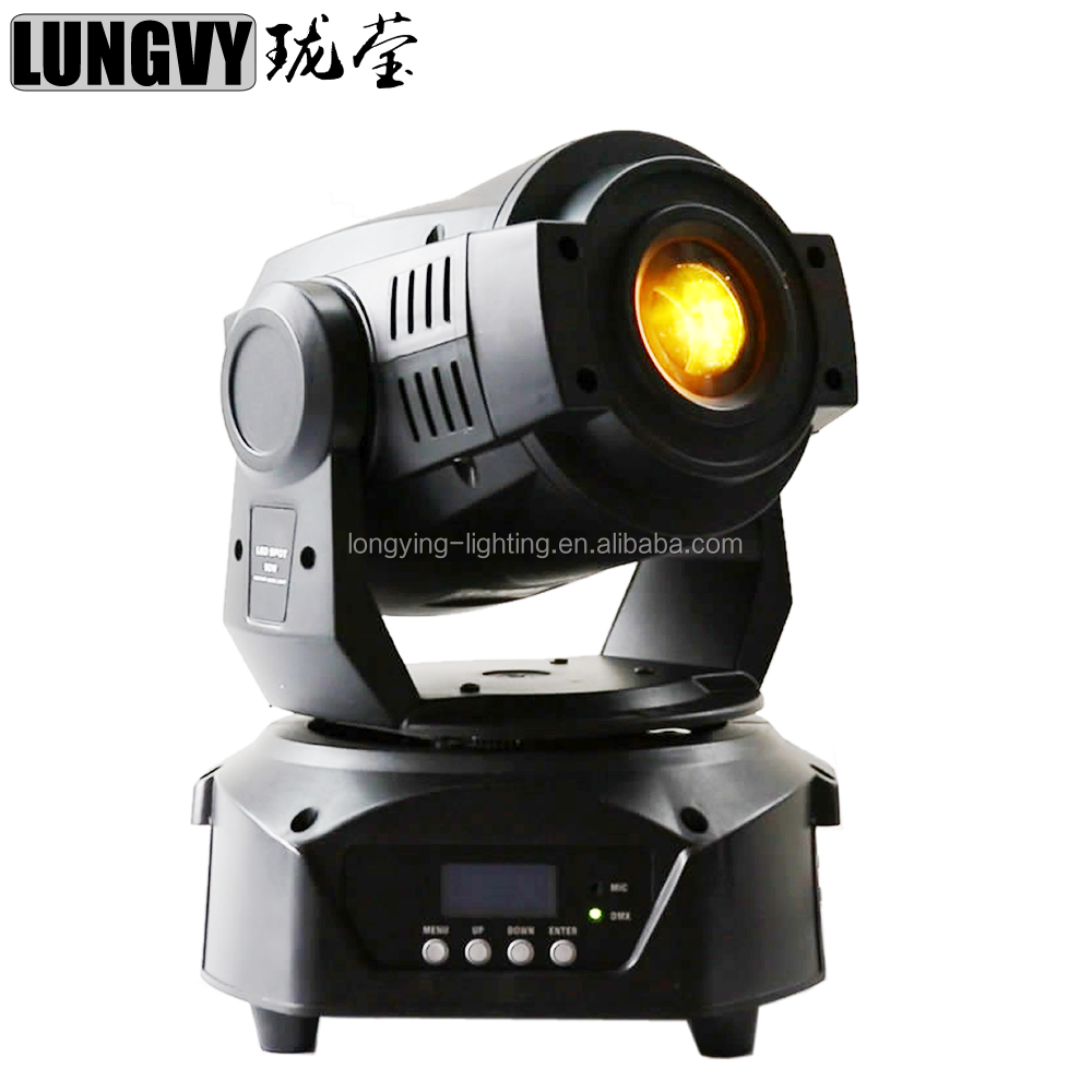 High Quality 90w LED Moving Head Spot Light 3 Face Prism With DMX Controller 15 Channel