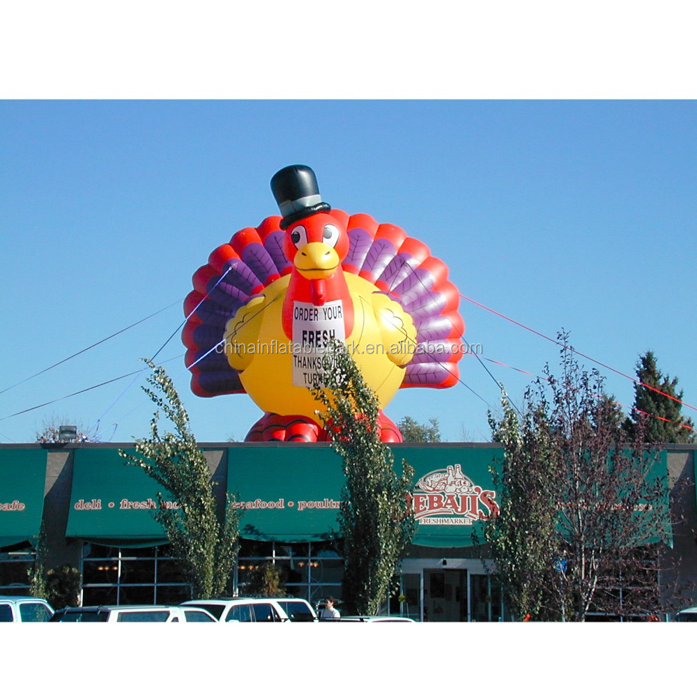 giant inflatable inflatable Turkey model,Thanksgiving replica inflatable Turkey model
