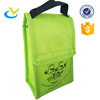 Promotional baby water bottle portable food delivery non woven cooler bag
