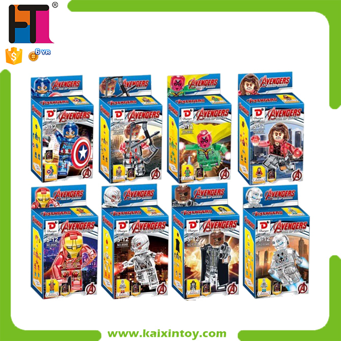 Popular Customized Plastic Anime Marvel Action Figure