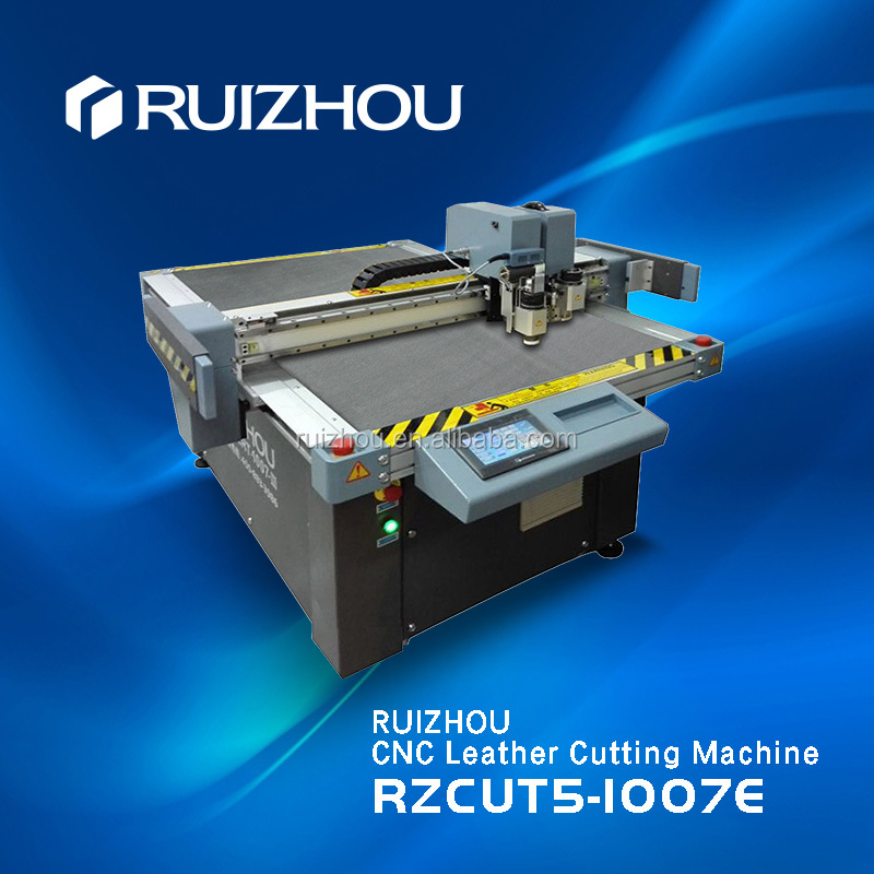 Ruizhou CNC vibrating blade Bag leather cutting machine