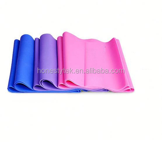 E066 2015 New Products Custom Yoga Fitness Exercise Sport Elastic Pull Rope Pilates Band